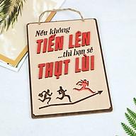 Bảng Gỗ Khẩu Hiệu Trang Trí Văn Phòng, Slogan Tạo Động Lực Làm Việc Nhiều Mẫu Độc Đáo Mẫu 33- 43 SLOGAN thumbnail