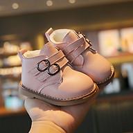 Giày cổ cao lót lông ấm áp cho bé gái 1 - 3 tuổi phong cách Hàn Quốc GE94 thumbnail