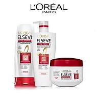 Bộ sản phẩm chăm sóc tóc chống 5 dấu hiệu hư tổn 3 bước L Oreal Paris Total Repair 5 thumbnail