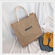 Túi cói đi biển thời trang nữ T01 thumbnail