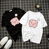 Áo thun Nam Nữ Không cổ CON HEO CIMT-0017 mẫu mới cực đẹp, có size bé cho trẻ em áo thun Anime Manga Unisex Nam Nữ, áo phông thiết kế cổ tròn basic cộc tay thoáng mát thumbnail