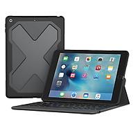 Ốp Lưng Kèm Bàn Phím Zagg Rugged Messenger iPad 9.7 Inch (848467064544 - Black) - Hàng chính hãng thumbnail