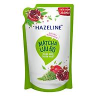 Sữa Tắm Hazeline Dưỡng Sáng Da Matcha Và Lựu Đỏ (Túi 1kg) thumbnail