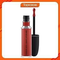 Son Kem Mac Powder Kiss Liquid Lipcolour 991 Devoted To Chili 5ml - Đỏ Gạch thumbnail