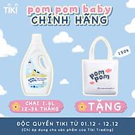 Nước Giặt Xả Pom Pom chuyên biệt dành cho bé năng động (12 36 tháng) - Chai 1,6L thumbnail