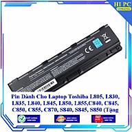 Pin Dành Cho Laptop Toshiba L805 L830 L835 L840 L845 L850 L855 C840 C845 C850 C855 C870 S840 S845 S850 - Hàng Nhập Khẩu thumbnail