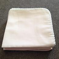 Khăn sữa trắng cotton 2 lớp mềm mại cho bé (30 x 30cm) - Gói 10 cái thumbnail
