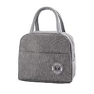 Túi đựng cơm thiết kế Hàn Quốc - Lunch Bag Có lớp bạc giữ nhiệt dễ vệ sinh thumbnail