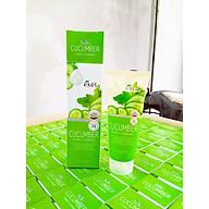 Sữa rửa mặt Dưa Leo - Ekel Foam Cleanser Cucumber 100ml (Tặng 2 mặt nạ Jant Blanc) thumbnail