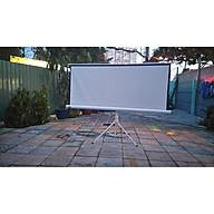 Màn chiếu 3 chân 1m25 x 1m25 ( 71 inch ) - Hàng Chính Hãng thumbnail
