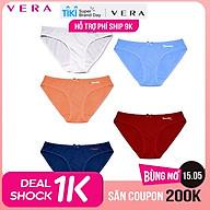 Combo 05 quần lót VERA Bamboo 7 ngày dáng bikini - 0149C thumbnail