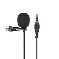 GL-119 3.5AUX Lavalier Microphone Omni Directional Condenser Microphone Superb Sound for Audio and Video Recording Black thumbnail