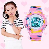 Đồng hồ trẻ em đèn led 7 màu nhiều chức năng 1015 thumbnail