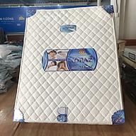 Nệm lò xo Topaz 3 viền bóc vải, vải 2D Hàn Việt Hải 180x200x25cm thumbnail