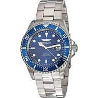 Invicta Men s Pro Diver Quartz Diving Watch with Stainless-Steel Strap, Silver, 22 (Model 22019) thumbnail
