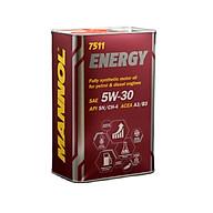[PRO] Nhớt MANNOL 7511 Energy 5W-30 1L 4L Tổng Hợp Toàn Phần Chứa Ester thumbnail