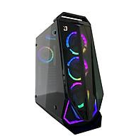 Vỏ thùng máy tính Jetek G9018(Case Game)- Hàng chính hãng thumbnail
