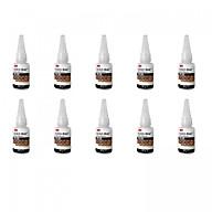 Hộp 10 chai keo dán đa năng siêu dính Scotch-Weld 20g 3M PR100 thumbnail