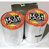 16 cuộn giấy in nhiệt dùng để in bill, in hóa đơn (thermal paper) TOPCASH K57mm phi 45mm dùng cho máy in nhiệt in hóa đơn, máy tính tiền - Hàng chính hãng thumbnail