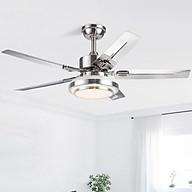 Quạt trần đèn trang trí phòng khách đẹp hiện đại - HLFAN073 thumbnail