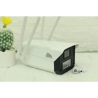CAMERA IP WIFI NGOÀI TRỜI VITACAM VB1090 - 3MPX ULTRA HD 1080 - Ban đêm có màu - Hàng Nhập khẩu thumbnail