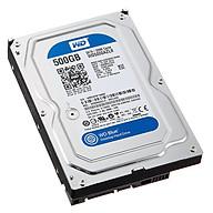 Ổ Cứng HDD WD Blue 500GB 32MB 7200rpm 3.5 - WD5000AZLX - Tặng Kèm Móc Khóa 4Tech - Hàng Nhập Khẩu. thumbnail