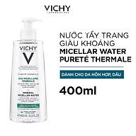 Nước Tẩy Trang Vichy Mineral Micellar Water Pureté Thermale Cho Da Hỗn Hợp Và Da Bóng Dầu 400ml thumbnail