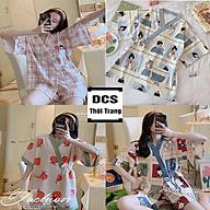 Bộ Ngủ Đùi Hoạt Hình Chất Liệu Cotton Vừa Xinh Đáng Yêu Xưởng May DCS thumbnail
