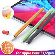 Ốp silicon TPU bảo vệ Apple Pencil 2 bút cảm ứng kiểu bút chì ipad máy tính bảng Dan House Hàng chính hãng thumbnail