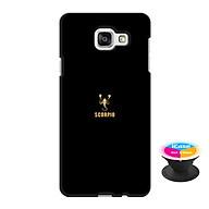 Ốp lưng nhựa dẻo dành cho Samsung A7 2016 in hình Bò Cạp - Tặng Popsocket in logo iCase - Hàng Chính Hãng thumbnail