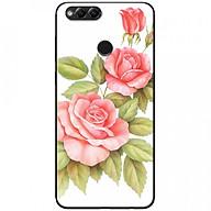 Ốp lưng dành cho Honor 7X mẫu Ba hoa hồng đỏ nền trắng thumbnail