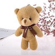 Gấu bông mini nhỏ xinh cao 12.5 cm-dùng làm móc khoá balo túi cặp cực dễ thương- GIAO MÀU NGẪU NHIÊN thumbnail