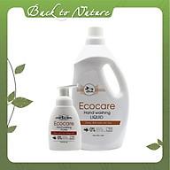 Nước rửa tay Hữu cơ diệt khuẩn dạng bọt Tinh dầu Thiên nhiên1000ml thương hiệu Ecocare ( tặng kèm vỏ tạo bọt) thumbnail