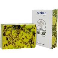 Xà Bông Tắm Trầu Không Kháng Khuẩn, Ngừa Mụn Heebee Piper Betle Leaf Natural Soap Bar 100gr thumbnail