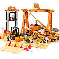 Bộ đồ chơi mô hình xe cảng biển DLX giúp bé phát triển trí tuệ và trí tưởng tượng (hàng nhập khẩu) thumbnail