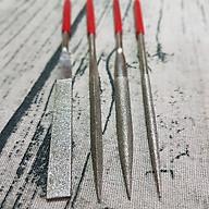Bộ 4 đầu dũa mài hợp kim loại tốt dài 180mm thumbnail