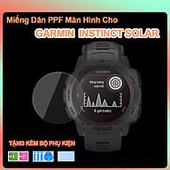 Miếng Dán PPF Màn Hình Dành Cho Garmin Instinct Solar- Hàng Chính Hãng thumbnail