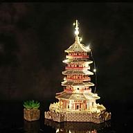 Đồ chơi lắp ráp gỗ 3D Mô hình Tháp Lôi Phong thumbnail