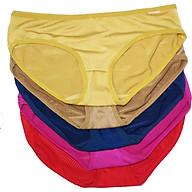 Sét 5 quần lót nữ cotton thông hơi co giãn 4 chiều thoáng mát Z2604 thumbnail
