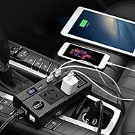 Bộ đổi nguồn và kết nối đa năng trên xe hơi chuyển 12v , 24v sang 220v LK pehouse - Hàng chính hãng thumbnail