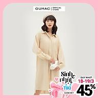 Đầm suông nữ thiết kế phối 2 túi GUMAC DB389 thumbnail