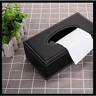 Hộp giấy ăn bọc da cao cấp tiện dụng HCN01 thumbnail