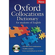 Oxford Collocations Dictionary Pack (Dictionary and CD-ROM) thumbnail