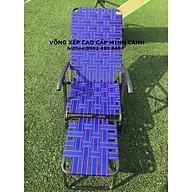 Ghế xếp gấp gọn khung sơn tĩnh điện dây bẹ thumbnail