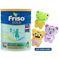 Sữa bột Friso Gold 4 1400g dành cho trẻ từ 2 - 6 tuổi + Tặng bộ đồ chơi ngẫu nhiên cho bé thumbnail