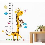 Miếng dán sticker Cleverbees đo chiều cho bé cao từ 60 cm tới 180 cm dán tường trang trí hình hoạt hình ngộ nghĩnh dễ dán Mẫu Clickmua23- Nhiều mẫu lựa chọn thumbnail