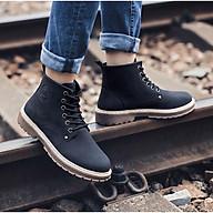 Giày nam cao cổ sneaker cao bồi hoang dã thumbnail