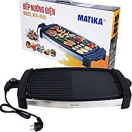 Bếp Nướng Điện,Vỉ Nướng Điện 2000W Matika MTK-4945 Chống Dính Vân Đá Hoa Cương Rơ-Le Tự Ngắt An Toàn-Hàng Chính Hãng thumbnail