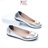 Giày Búp Bê Mũi Tròn Gắn Khoá Lót Đệm Êm Chân Pixie X602 thumbnail