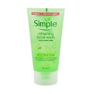 [MẪU MỚI] Sữa Rửa Mặt Dạng Gel Simple Refreshing (150ml) - thumbnail